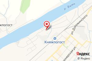 Адрес ЮЭС подразделение Княжпогостский РЭС на карте