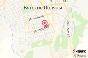 Адрес Коммунэнерго Вятскополянское межрайонное предприятие электрических сетей на карте