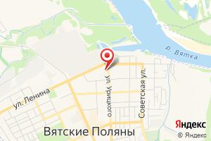 Адрес Кировский филиал ЭнергосбыТ Плюс на карте