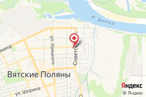 Адрес ОАО Кировэнергосбыт на карте