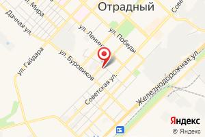 Адрес Водник на карте