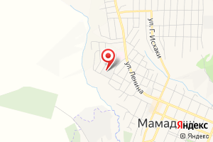 Адрес Мамадышский водозабор № 2 на карте
