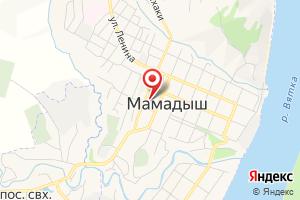 Адрес Мамадышский водоканал на карте