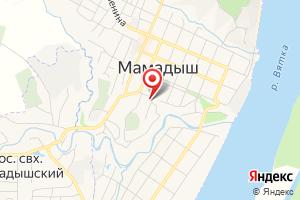 Адрес Мамадышские тепловые сети на карте