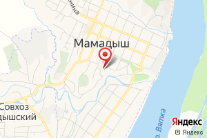 Адрес Мамадышский офис клиентского обслуживания на карте