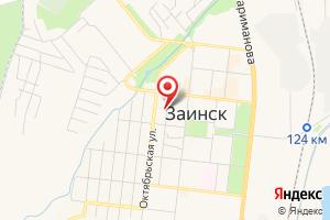 Адрес Заинский Око на карте