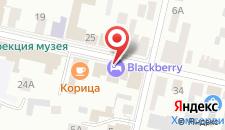Отель Blackberry на карте