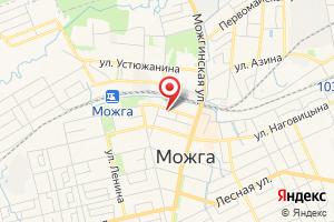 Адрес Газпром межрегионгаз Ижевск, Можгинский расчетный центр на карте