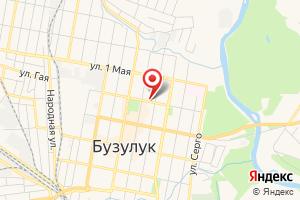 Адрес Газпром межрегионгаз Оренбург, абонентский участок в г. Бузулук на карте