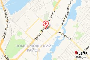 Адрес Территориальный участок Комсомольский на карте
