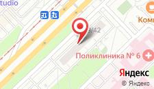 Апартаменты Рядом с Омегой на карте