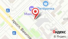 Гостиница МАКСИМЪ на карте