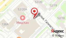 Гостиница Премьер на карте
