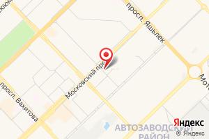 Адрес Территориальный участок Яшьлек на карте