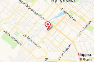 Адрес Бугульма-Водоканал на карте