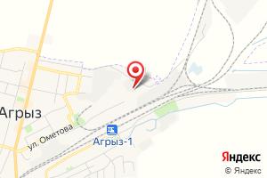 Адрес Электрическая подстанция Агрыз Тяговая на карте