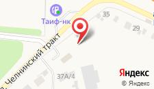 Мини-отель Одзун на карте