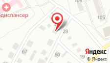 Гостиница Околица на карте