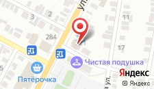 Гостиница Шакира на карте