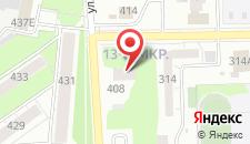 Отель Malina на карте