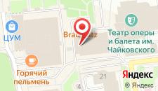 Гостиница Парк Инн на карте