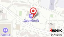 Отель ДерябинЪ на карте