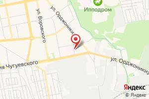 Адрес ГазДомСервис на карте