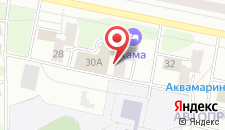 Гостиница Кама на карте