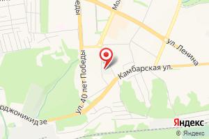 Адрес Промэкс на карте
