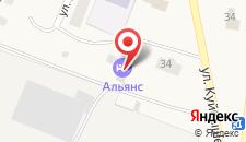 Гостиница Альянс на карте