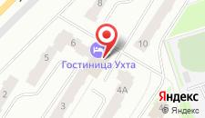 Гостиница Ухта на карте