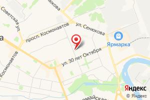 Адрес Коми тепловая компания, Ухтинский филиал на карте