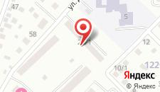 Апартаменты Сутки 700 Комарова, 28 на карте