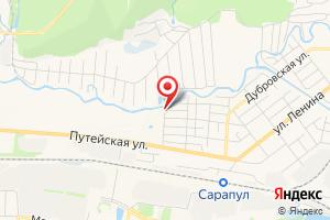 Адрес Водозаборная станция Сарапульской ТЭЦ на карте