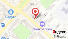 Отель Чайковский на Мира на карте