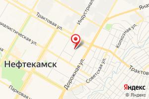 Адрес МУП Нефтекамскводоканал на карте