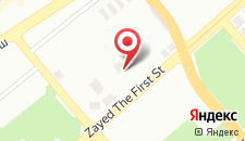 Отель Oryx Hotel на карте