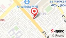 Отель Centro Al Manhal by Rotana на карте