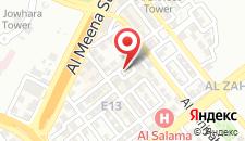 Отель Emirates Plaza Hotel на карте