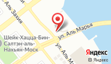 Курортный отель Le Meridien Abu Dhabi на карте