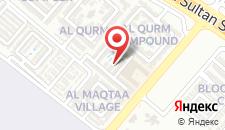 Курортный отель Al Seef Resort & Spa by Andalus на карте