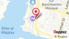 Отель Shangri-La Hotel, Qaryat Al Beri на карте