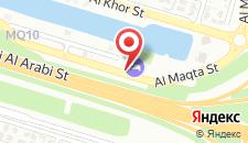 Отель Ibis Abu Dhabi Gate на карте