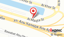 Отель Novotel Abu Dhabi Gate на карте