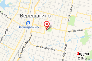 Адрес Газпром межрегионгаз Пермь, абонентский пункт в г. Верещагино на карте