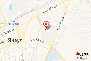 Адрес Янаульский цех обеспечения электроэнергией Октябрьское Уэн на карте