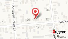 Гостевой дом Дом и отдельные номера под ключ на карте