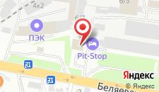 Гостиница Pit-Stop на карте