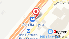 Отель Premier Inn Dubai Ibn Battuta Mall на карте