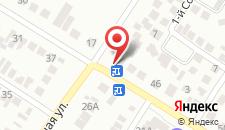 Гостиница Пристань на карте